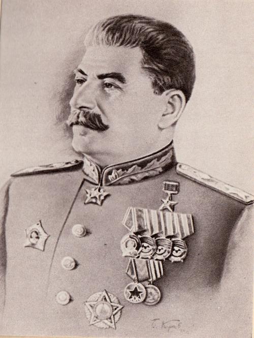 С именем Сталина!